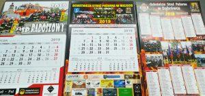 Kalendarze strażackie realizacja