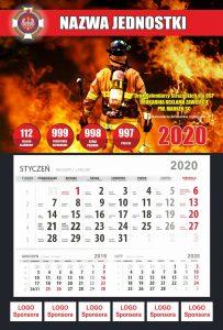 Kalendarze strażackie-przykład