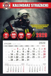 Kalendarz z wyrywką 2020