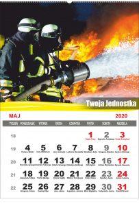 Kalendarze strażackie spiralowane