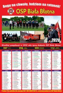 Kalendarz strażacki Biala