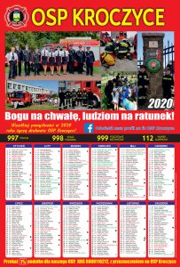 Kalendarz strażacki kroczyce