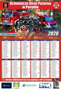 Kalendarz strażacki poręba