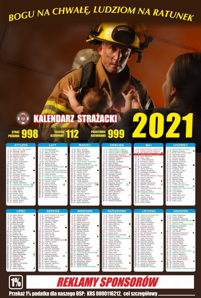 Kalendarz Strażacki Ludziom Na Ratunek