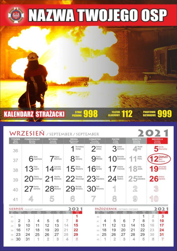kalendarz spersonalizowany